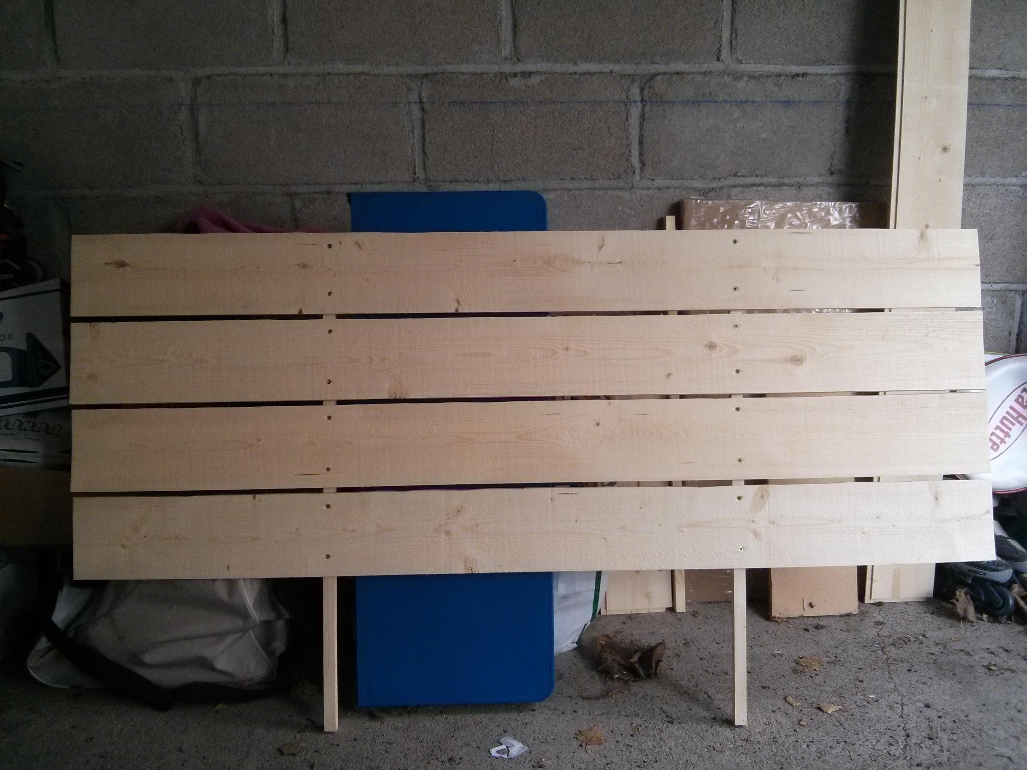 Planche Pour Tete De Lit diy une tête de lit avec des planches – ralfred's blog