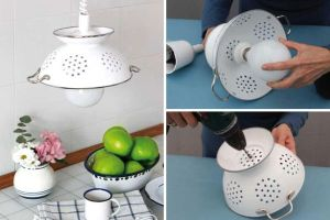 DIY-Pendant-Lamp-of-Enameled-Colander