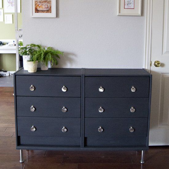 Quelques ikea hack en diy ralfred 39 s blog for Commode highboy ikea