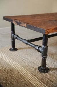 table basse tube