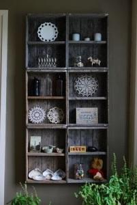 vintage crate shelves 2