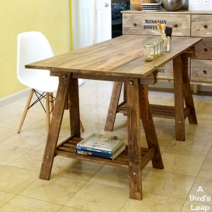 DIY Rustic Table 1