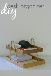how-to-make-desk-organizer-from-a-hanger-and-two-frames