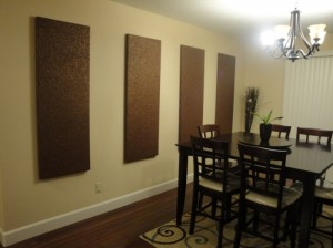 lovely-diy-minimalist-brown-particle-board-wall-panels-wall-art-decor-ideas-for-minimalist-dining-room-interior-700x525